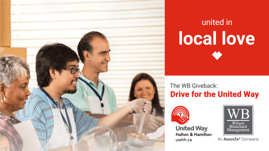 The WB Giveback: Drive for the United Way